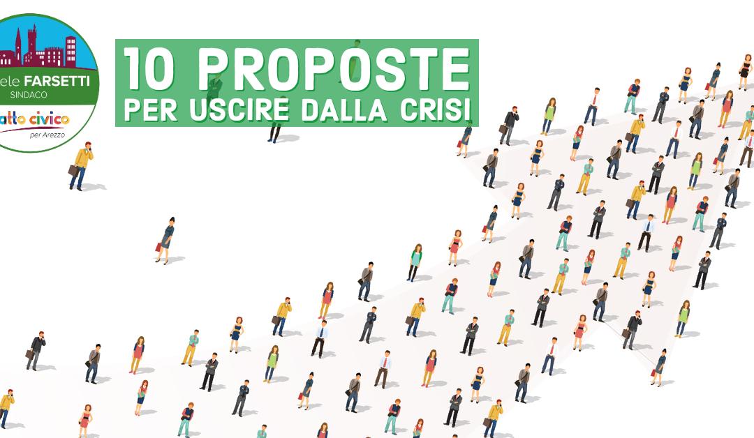 Le nostre 10 proposte per uscire dalla crisi. Un contributo costruttivo alla città