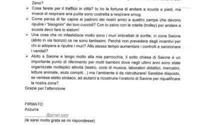 Finchè ci saranno ancora Azzurre Arezzo ha speranza!